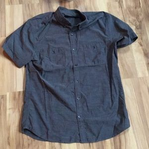 Men's Express short sleeve button down shirt